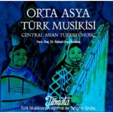 CENTRAL ASIAN TURKISH MUSIC CD